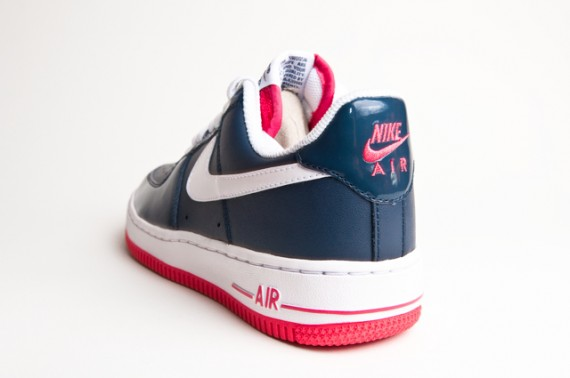 nike air force komplett blau
