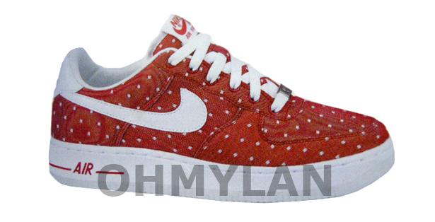 online retailer 3c0cf 75425 Nike WMNS Air Foce 1 Premium  07 – Valentines Day 2010