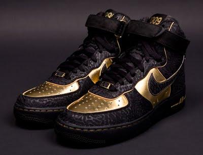Nike Air Force In Schwarz